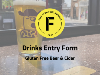 gluten free drinks, entry form, free form food awards