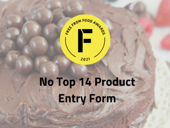 no top 14 product entry form, free from food awards