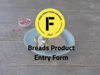 bread product entry form, freefrom food awards