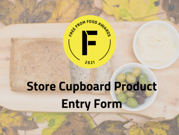 store cupboard, entry, freefrom food awards