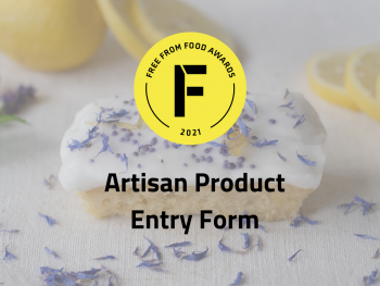 freefrom food awards, artisan, entry form